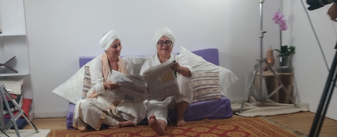 Guru Jiwan Kaur e Paola Tavella
