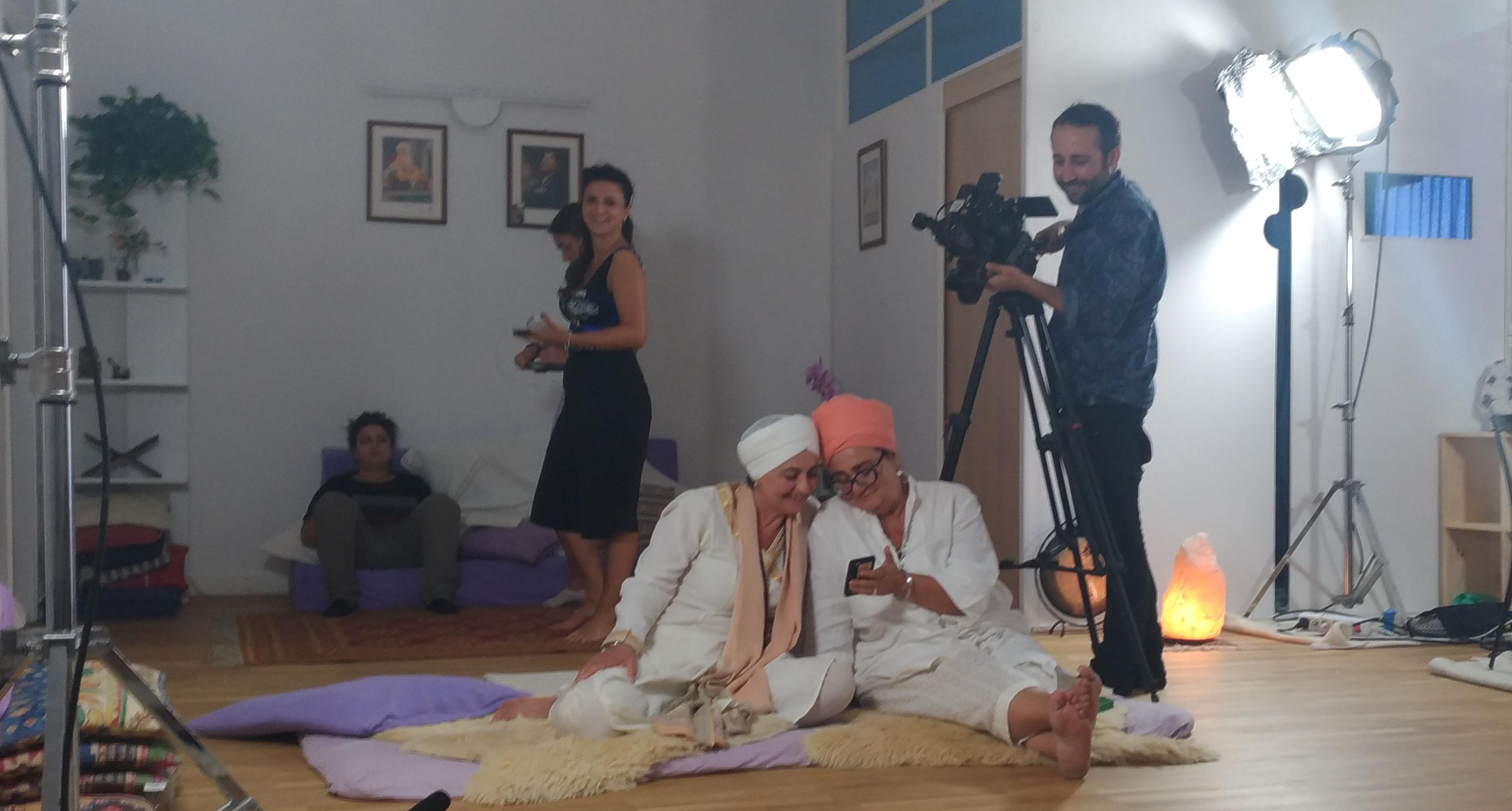 "Riprese di ""Senso comune"" a Shakti YogaLab"