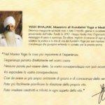 Sat Kriya col Tocco del Maestro dal master's Touch di Mentana 2000 - dal depliant originario
