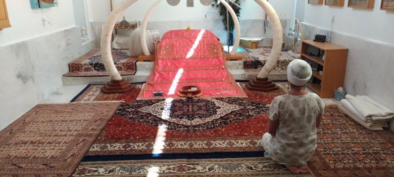Espanola, Guru Jiwan nella Gurdwara di Yogi Bhajan